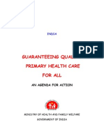 Quality Primary Healthcare- An Agenda for Action