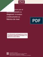 Diagnostico de Daños y Reparaciones en Obras de Mamposteria