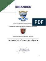 Modulo Planificacion Estrategica