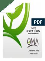 Induccion Programa Gestion Tecnica