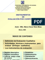 Instrumentos de Evaluacion Por Competencias v 29052009