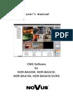B-series CMS Software v1.0 En