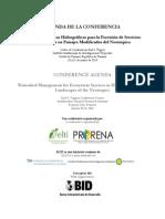 Agenda Final - Conferencia ELTIPRORENA 2014
