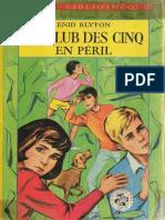 Club Des Cinq 08 Le-Club Des Cinq en-peril - Enid Blyton