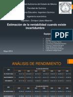 PRESION ESTIMACION DE LA RENTABILIDAD.ppt