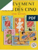 Club Des Cinq 14 Enlevement Au Club Des Cinq - Enid Blyton