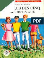 Club Des Cinq 15 Le Club Des Cinq Se Distingue - Enid Blyton