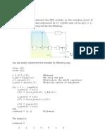 BCH & Convolutional Encoder