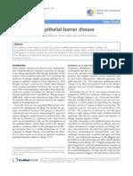 Allergy as an Epithelial Barrier Disease
