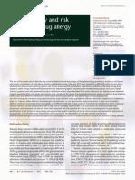 Epidemiology and Risk of Drug Allergy