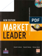 New Market Leader Elementary Course Book