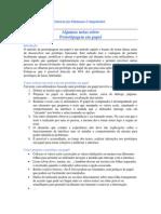 Notas PrototipagemPapel