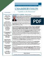 Chambervision Newsletter; June; Lisle Area Chamber of Commerce
