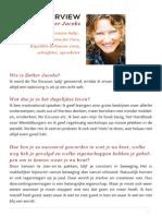 Interview EstherJacobs Voor Het Boek Sexy Leiderschap Van Ruth Sinkeler