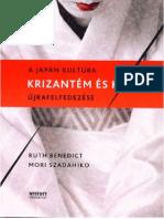 Ruth Benedict - Mori Szadahiko- Krizantém és kard