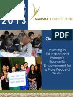 MDF Annual Report 2013