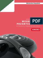 Aneks Analizy Aplikacji Wzornictwa Przemyslowego w Polskich Przedsiebiorstwach