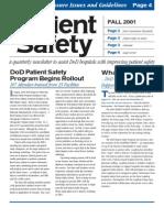 PSC Newsletter 2001 Fall
