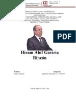 Hiram Abif Gaviria Rincón