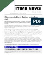 Maritime News 28 May 14