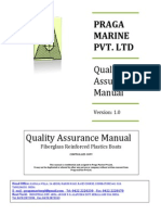 Quality Assurance Manual-Praga Marine Pvt Ltd