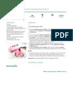 Recetario Thermomix® - Vorwerk España - Bizcocho Pantera rosa - 2014-04-30