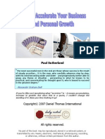 How to Accelerate Your Business and Personal Growth