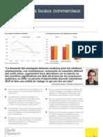 Le marché des locaux commerciaux en France - automne 09 - VF