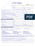 MDI New Patient Form