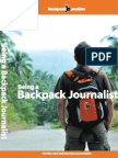 Being a Backpack Journalist