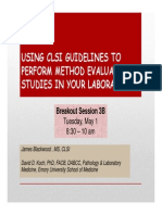 3B-Using CLSI Guidelines to