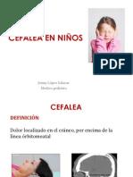 Clase 1 - CEFALEA en Niños