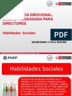 Competencias y Habilidades Sociales Para Directores Ccesa1