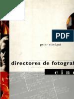 Ettedgui, Peter - Directores de Fotografia - Cine Parte 1 de 3