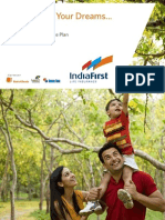 IndiaFirst Money Balance Plan Brochure 030912
