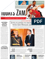 NEWSPAPERTODAYSZAMAN20.OCTOBER2009