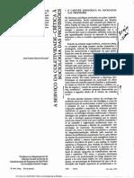 DURAND_Crítica a Sociologia Das Profissões
