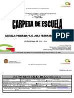 Formatos de Carpeta Escolar
