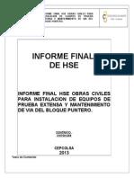 Informe Final Hse Manta Primer Periodo