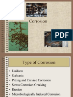 Type of Corrosion