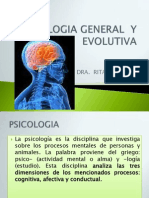 Psicologia General y Evolutiva