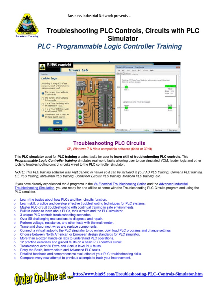 Plc Simulator Troubleshooting Training Programmable Logic Understanding Electricity And How To Troubleshoot A Circuit Controller