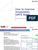 How to Improve Accessibility UMTS Nokia