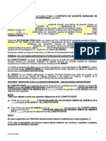 Contrato de Garantia Mobiliaria de Credito de Dinero – Scotiabank.