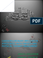 cardio pulmonary implication and obiesty