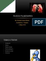 Ruidos Pulmonares
