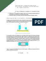 Determiancion Del Comportamiento Reologico Defluidos Usando Viscosimetro de Tubo