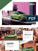 SEAT Ibiza Range Brochure