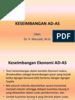 Kuliah Ke 12 Keseimbangan Ad-As(1)
