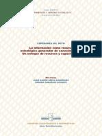 TD- La Informacion Como Recurso Estrategico Generador de Conocimiento Un Enfoque de Recursos y Capacidades